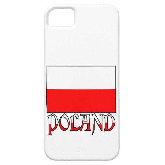 Poland Flag & Name iPhone SE/5/5s Case