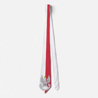 Poland Flag Neck Tie