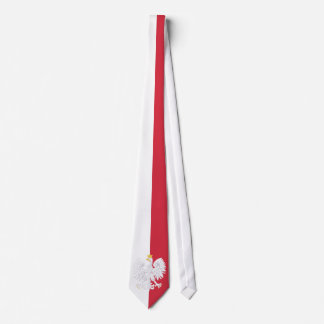 Poland Flag Neck Tie