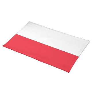 Poland Flag Cloth Placemat