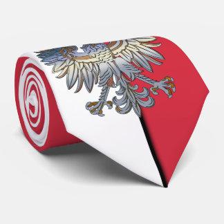 Poland Flag Polish Eagle Tie