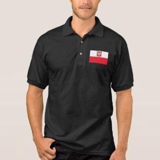 Poland Flag Polo Shirt