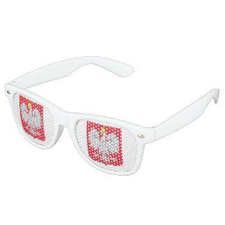 Poland Flag Retro Sunglasses