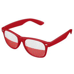 Poland Flag Retro Sunglasses
