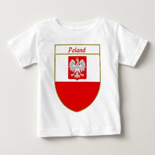 Poland Flag Shield Baby T-Shirt