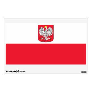 Poland Flag Wall Sticker