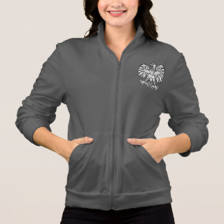 Poland Fleece Jacket Coat of Arms Collection
