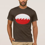 Poland Gnarly Flag T-Shirt