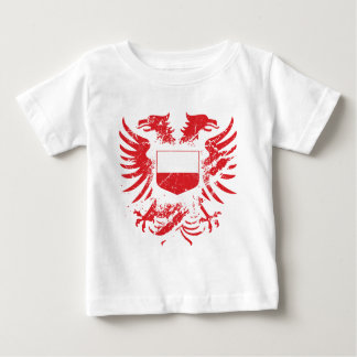 Poland Grunged Baby T-Shirt
