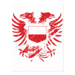 Poland Grunged Postcards