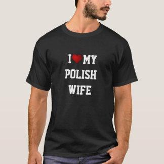 POLAND: I LOVE MY POLISH WIFE T-Shirt