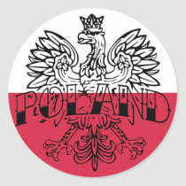 Poland Ink Eagle Sticker