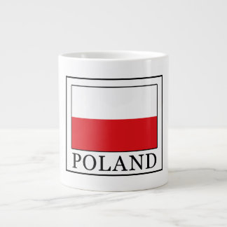 Poland Large Coffee Mug