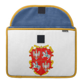 Poland-Lithuania Commonwealth Coat of Arms (Rise o MacBook Pro Sleeve