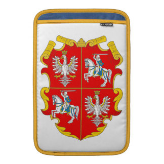 Poland-Lithuania Commonwealth (Rise of Roses) MacBook Sleeve