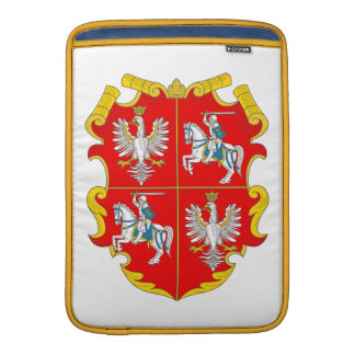 Poland-Lithuania Commonwealth (Rise of Roses) MacBook Sleeves