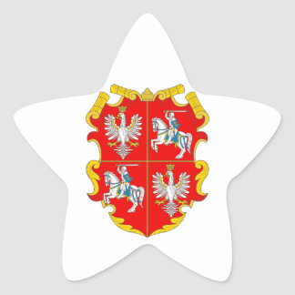 Poland-Lithuania Commonwealth (Rise of Roses) Star Sticker