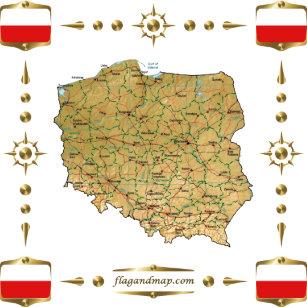 Flag Of Poland Home Décor, Furnishings & Pet Supplies   Zazzle