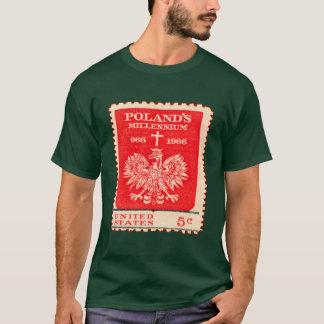 Poland Millennium Stamp T-Shirt