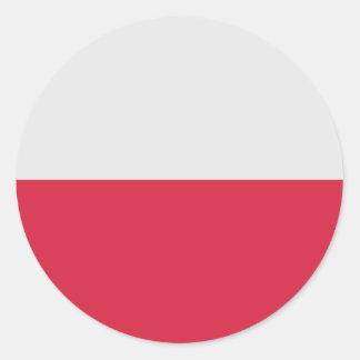Poland (Normative), Poland Round Stickers