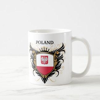 Poland [personalize] classic white coffee mug