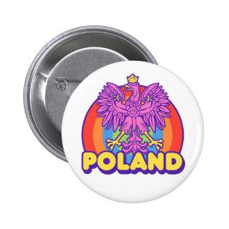 Poland Pinback Button