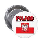 Poland Pinback Buttons