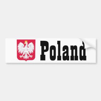 Poland Polish coat of arms Bumper Sticker