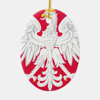 Poland Polish coat of arms Ceramic Ornament