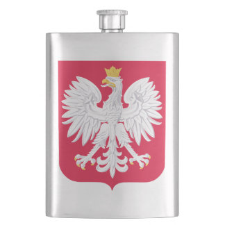 Poland Polish coat of arms Hip Flask