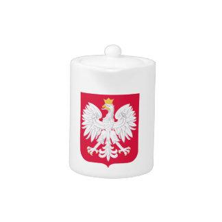 Poland Polish coat of arms Teapot
