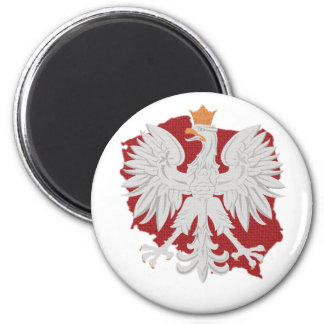 Poland Polish Eagle Magnet