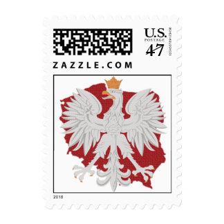 Poland Polish Eagle Postage Stamp