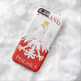 Poland Polish Flag Barely There iPhone 6 Case