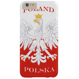 Poland Polish Flag Barely There iPhone 6 Plus Case