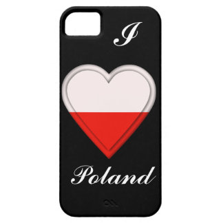 Poland Polish flag iPhone 5 Cases