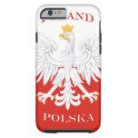 Poland Polish Flag Tough iPhone 6 Case