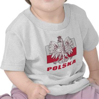 Poland Polska Coat of Arms T Shirt
