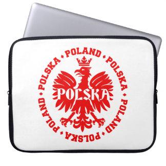 Poland Polska Crowned Eagle Symbol Computer Sleeves