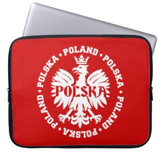 Poland Polska Crowned Eagle Symbol Laptop Computer Sleeve