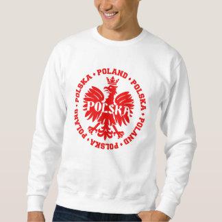 Poland Polska Crowned Eagle Symbol Sweatshirt