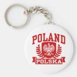 Poland Polska Key Chains