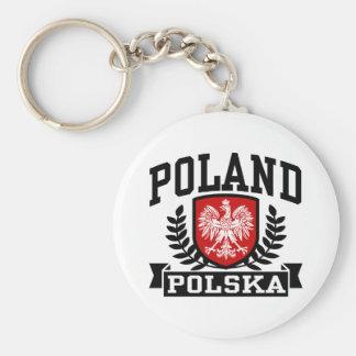Poland Polska Keychain
