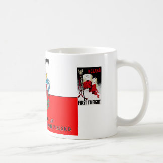 Poland Polska Lwow Classic White Coffee Mug
