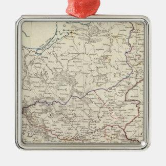 Poland Polska Metal Ornament