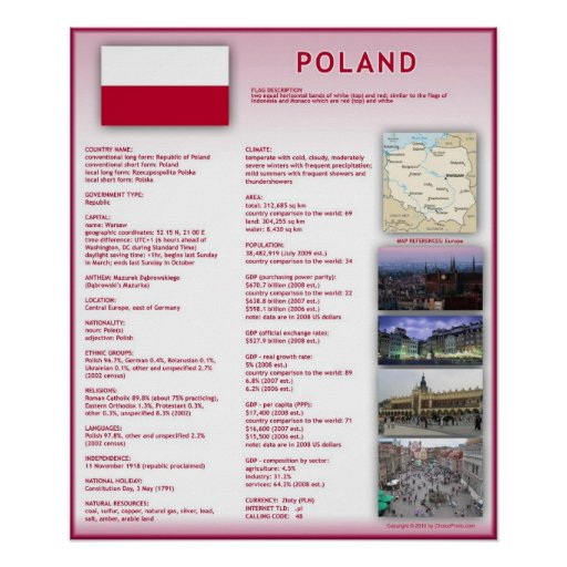 Poland Print