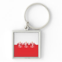 Poland Red Eagles Keychain