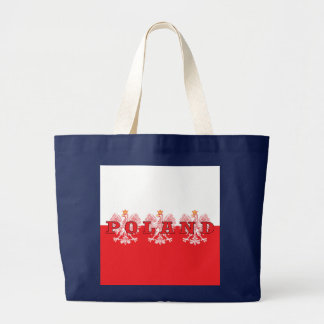 Poland Red Eagles Large Tote Bag