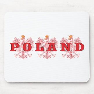 Poland Red Eagles Mouse Pad