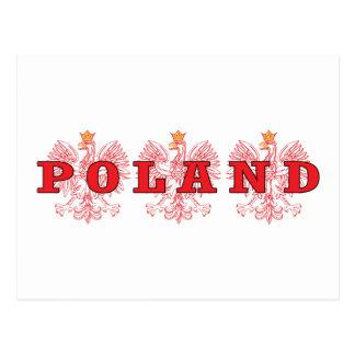 Poland Red Eagles Postcard